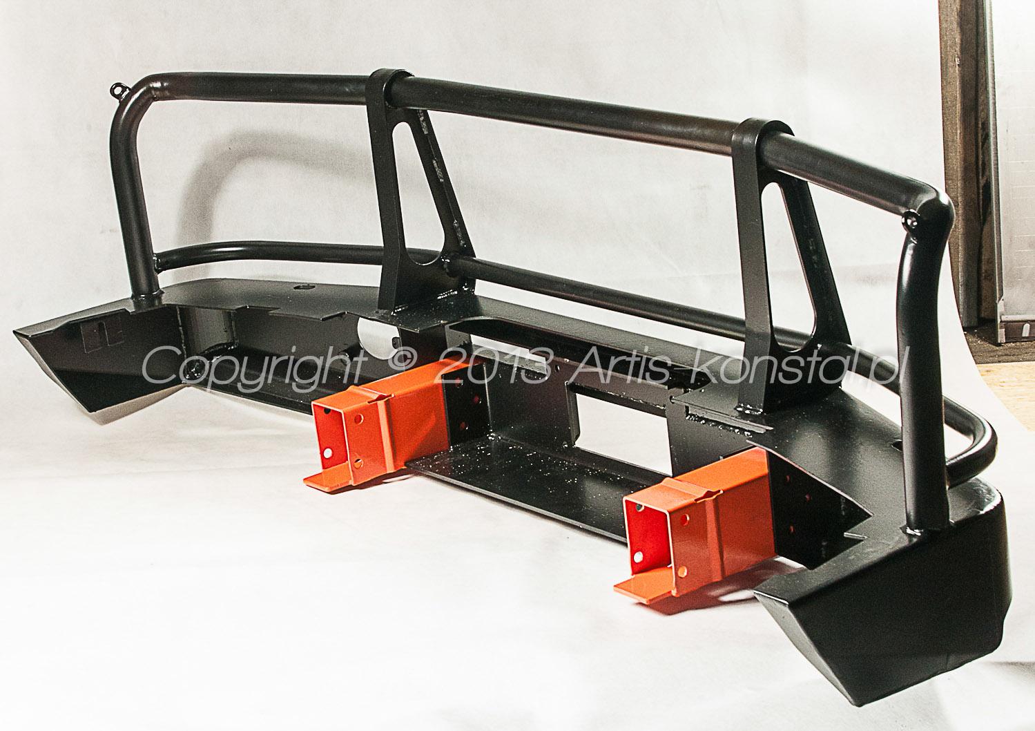 Heavy Front Bumper : Heavy duty front bumper artis